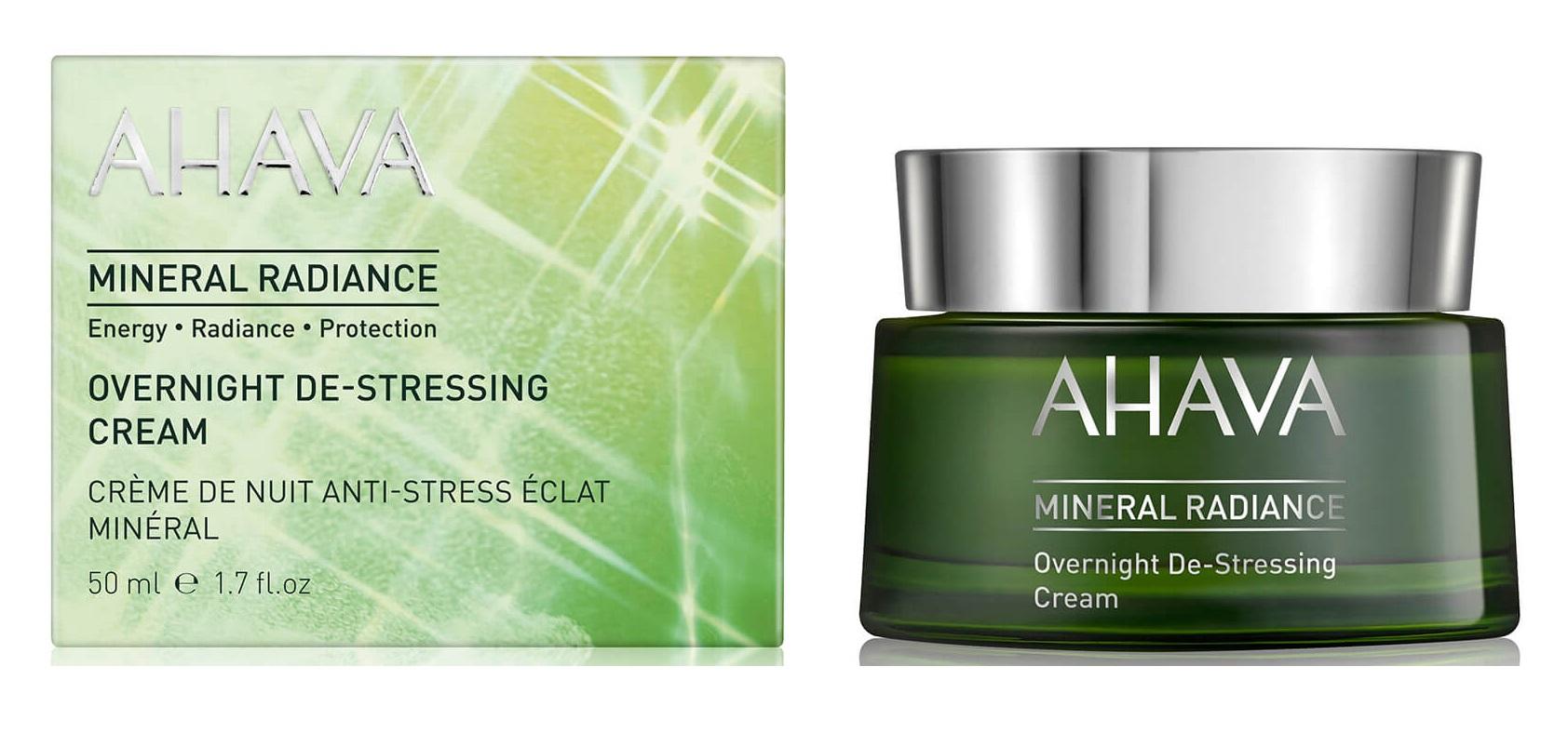 「AHAVA Mineral Radiance Overnight De-Stressing Cream 48ml」的圖片搜尋結果
